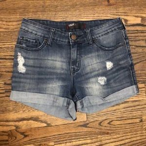 BDG cuffed denim shorts